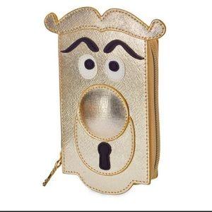 Disney Alice in Wonderland door knob wallet, new